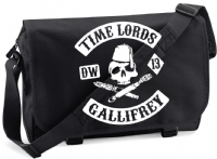 TIME LORDS M/BAG - INSPIRED BY DR.WHO MATT SMITH DAVID TENNANT SONS OF ANARCHY